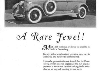 1925 Duesenberg Ad-01