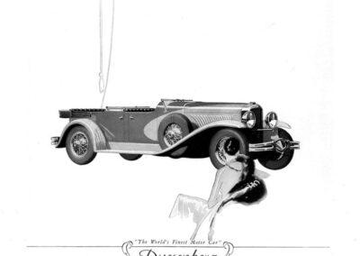 1929 Duesenberg Ad-01