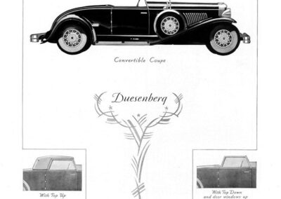 1931 Duesenberg Ad-01