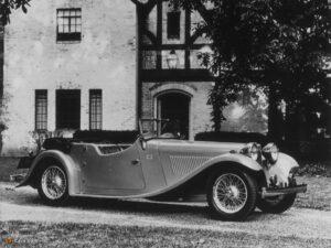 """Modelo SS-I """"Tourer"""" de 1933."""