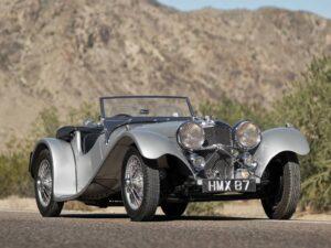 Jaguar SS 100 de 3,5 litros - 1938
