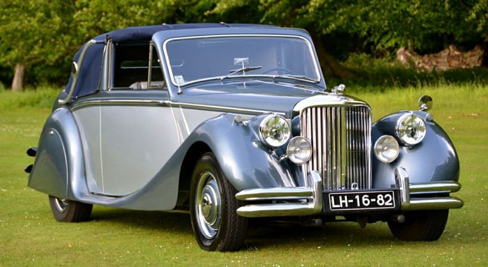Jaguar Mark V - 3,5 litros de 1950