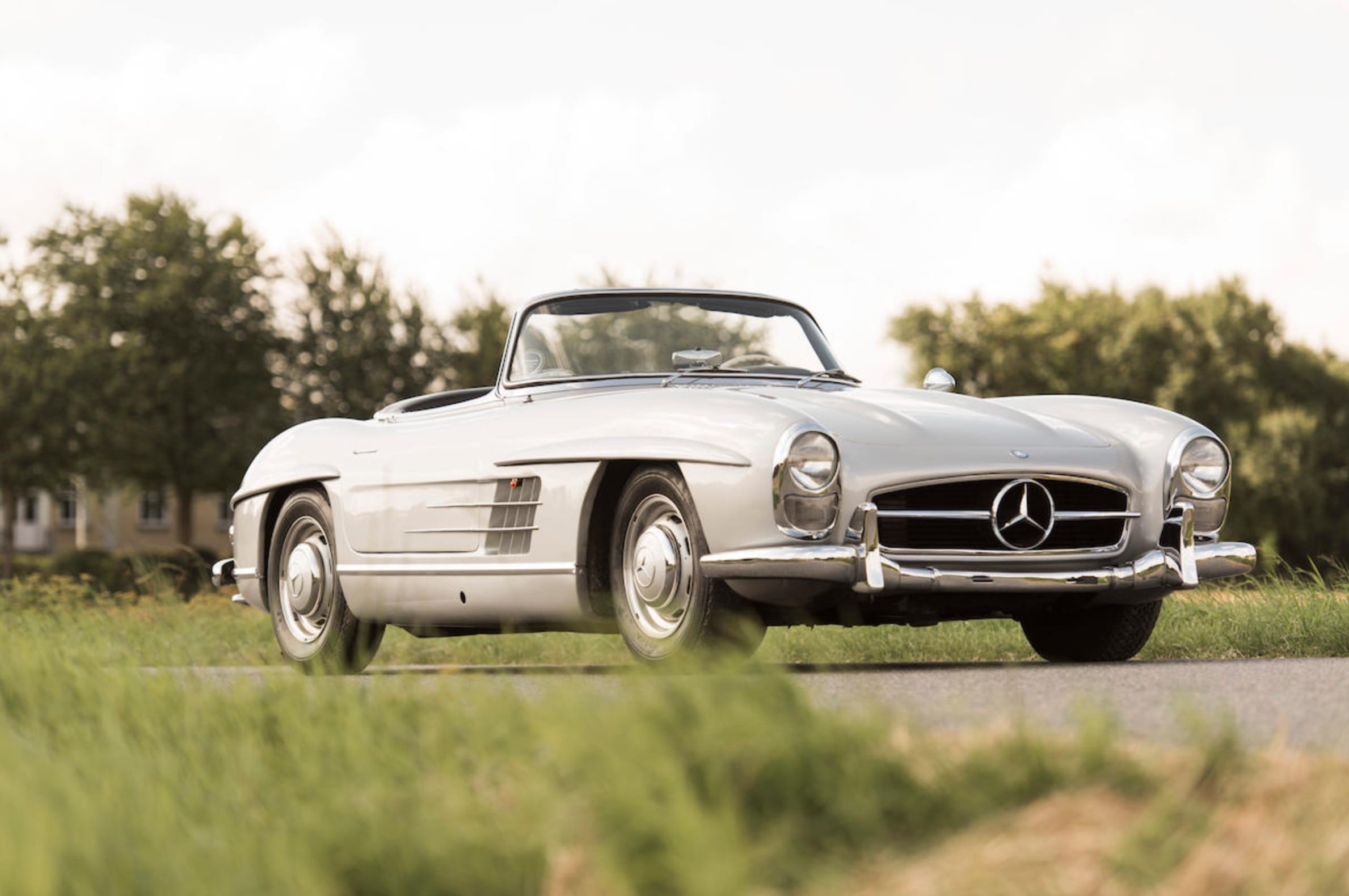 1957 mercedes benz 300 sl roadster mis coches clasicos. Black Bedroom Furniture Sets. Home Design Ideas