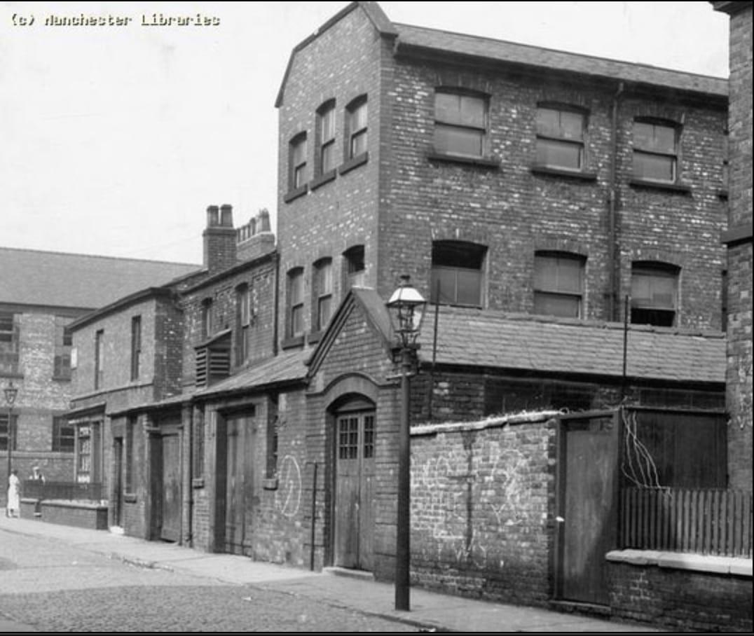Fábrica en calle Cooke, Manchester