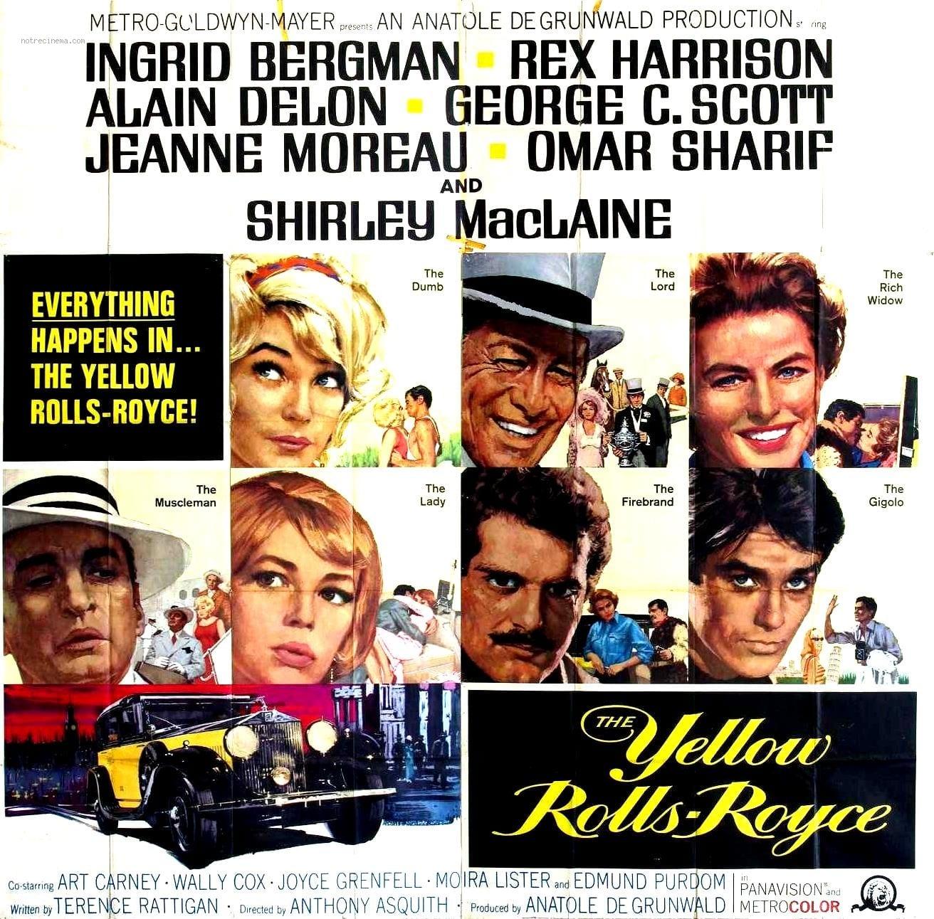 Película El Rolls-Royce Amarillo de 1964