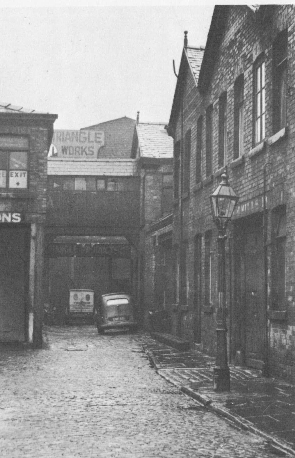 Otra vista de la calle Cooke en Manchester