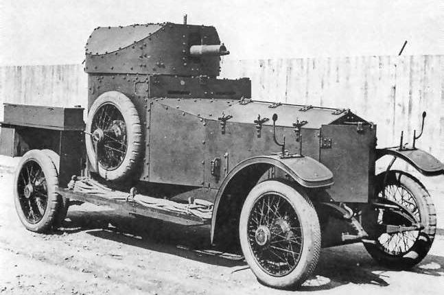 Armoured Car de Rolls-Royce