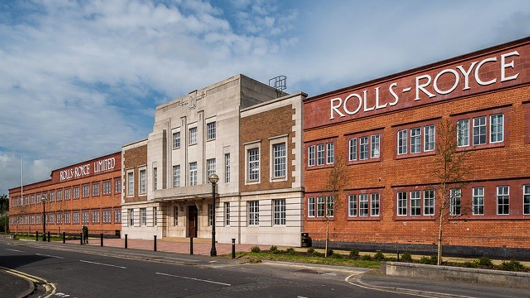 Fábrica de Rolls-Royce en Derby