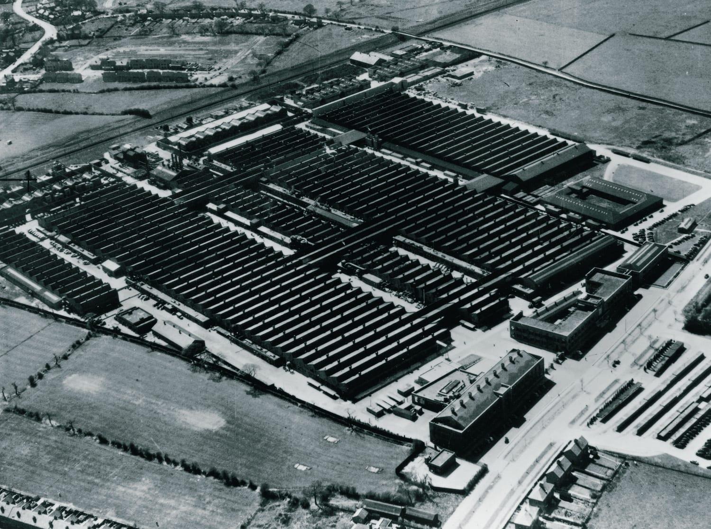 Fábrica de Crewe - Vista aérea