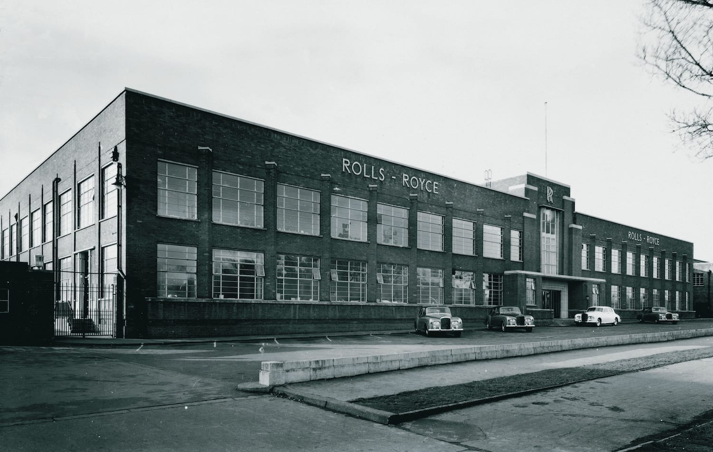 Fábrica de Crewe - Fachada exterior