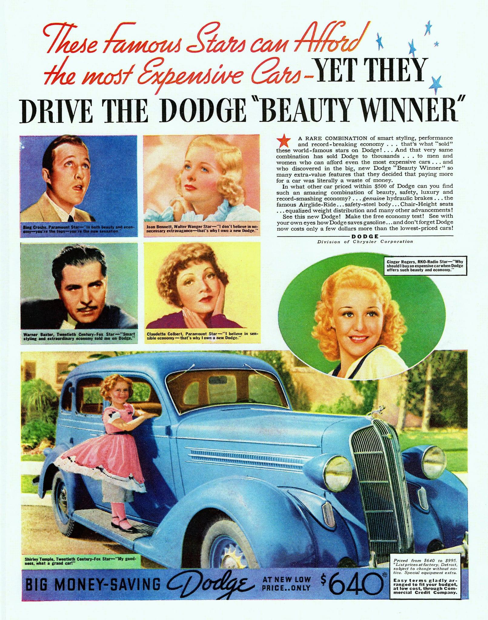 promociones publicitarias de automóviles