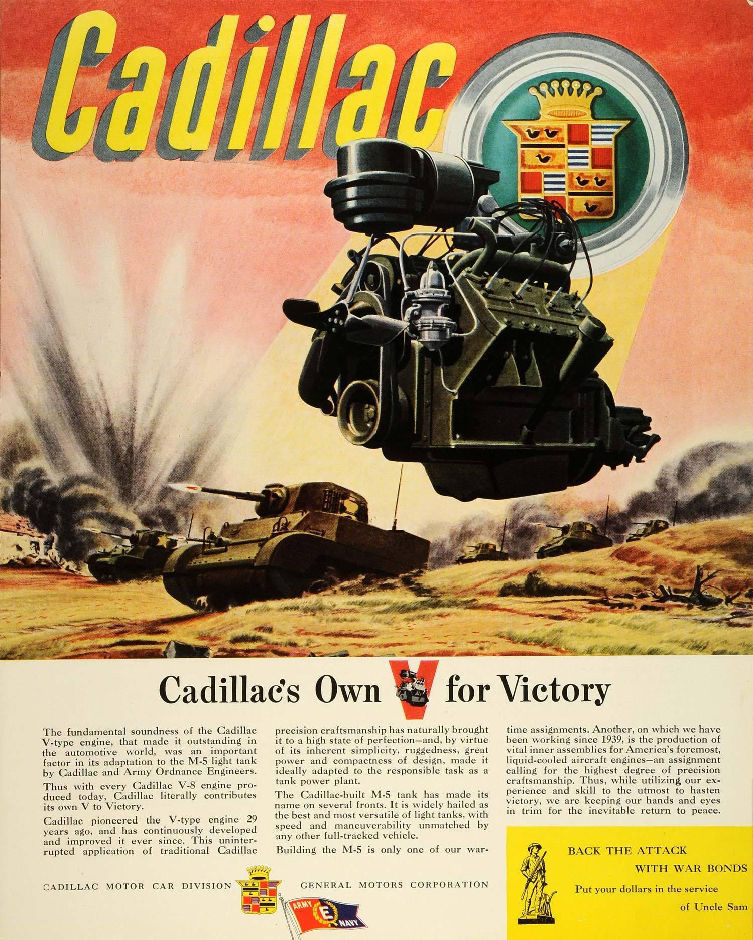 1943 - Cadillac en la Segunda Guerra Mundial