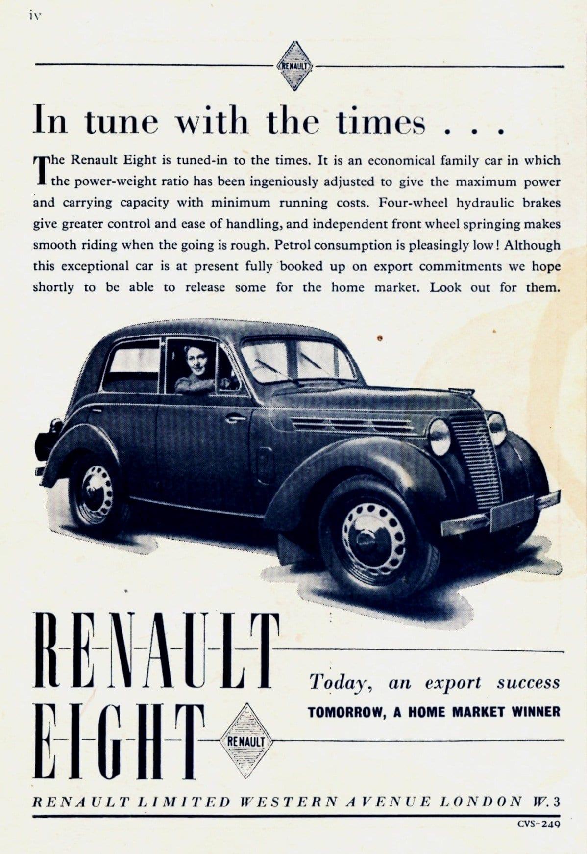 1949 Renault Eight