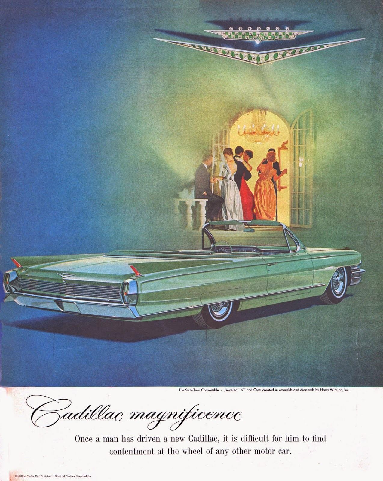 Publicidad Cadillac en 1962