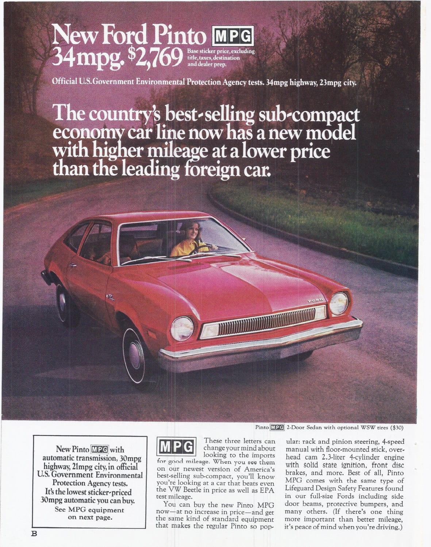 Ford Pinto de 1970