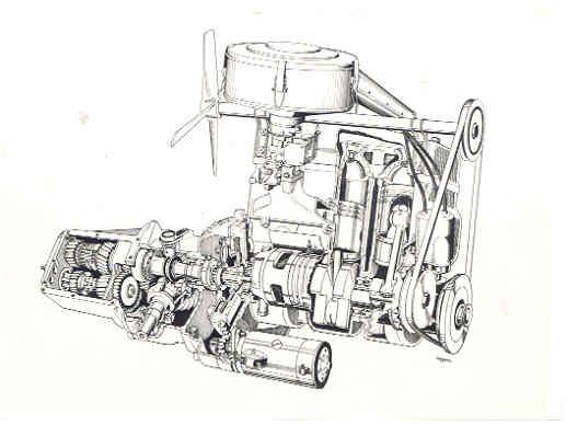 Motor del Sonett SS