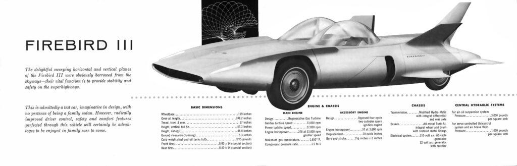 1958 GM Firebird III 8