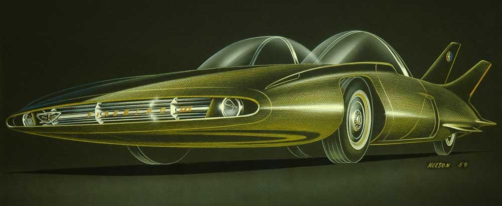 1958 GM Firebird III 36