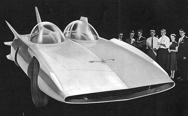 1958 GM Firebird III 45
